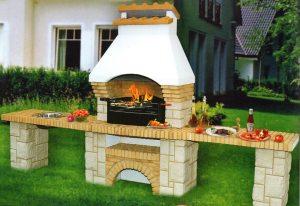 готовая печь барбекю