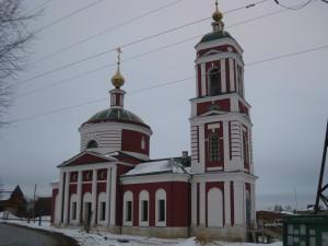 Храм святого Николая Чудотворца в Русиново