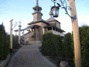 Боровская деревянная церковь Покрова Пресвятой Богородицы