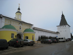 Главный вход Пафнутьево-боровского монастыря