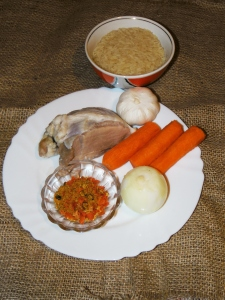 Ингредиенты для плова с мясом