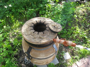 Сосиски гриль из тандыра