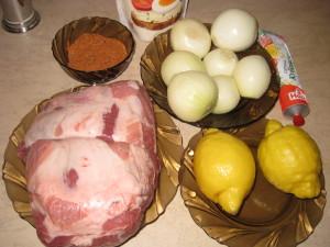 Набор продуктов для шашлыка