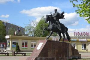 Памятник князю Всеславу в Полоцке