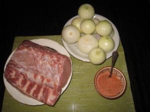 Ингредиенты для люля кебаб