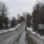церковь на въезде в Боровск