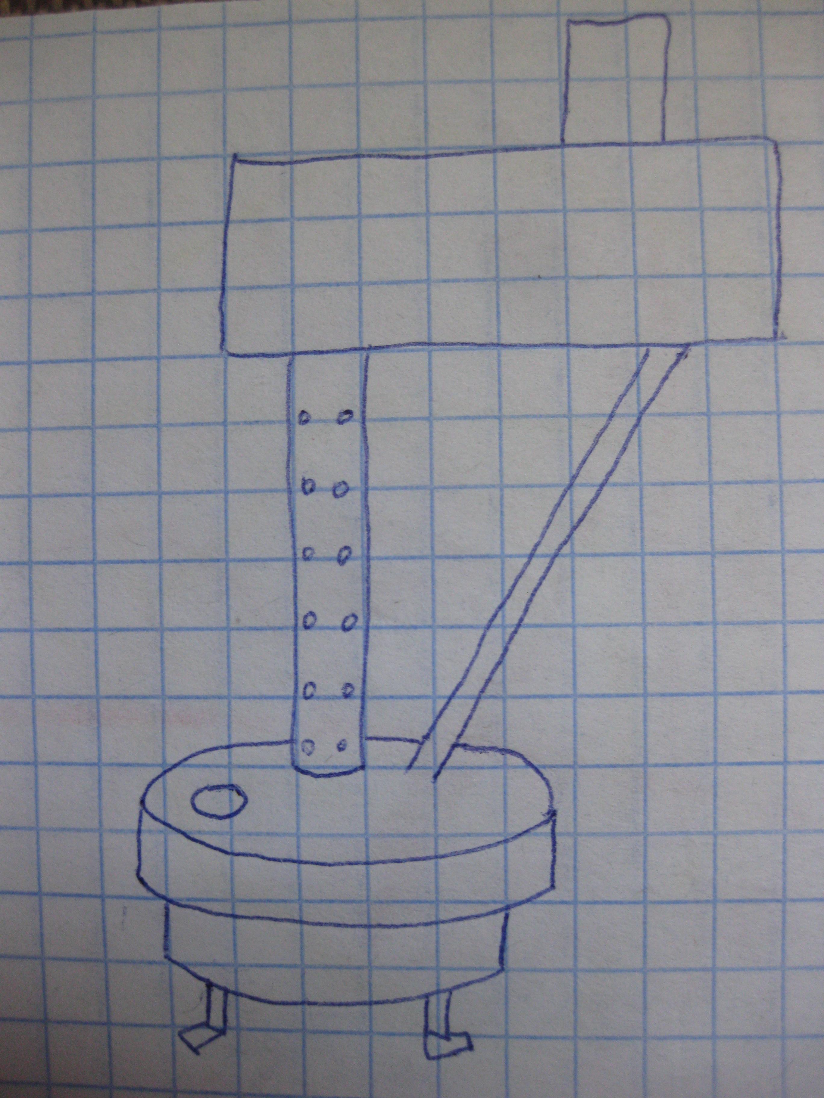 Схема печки для теплицы