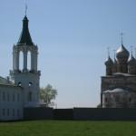 Вид на Спасо - Яковлевский монастырь