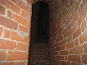 Винтовая лестница на колокольню Шереметьевского храма