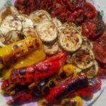 Готовые овощи гриль
